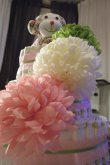 The diaper cake i made Samiya for her baby shower