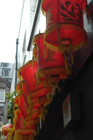 Lanterns on CNY