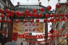 Chinese Lanterns on Chinese New Year